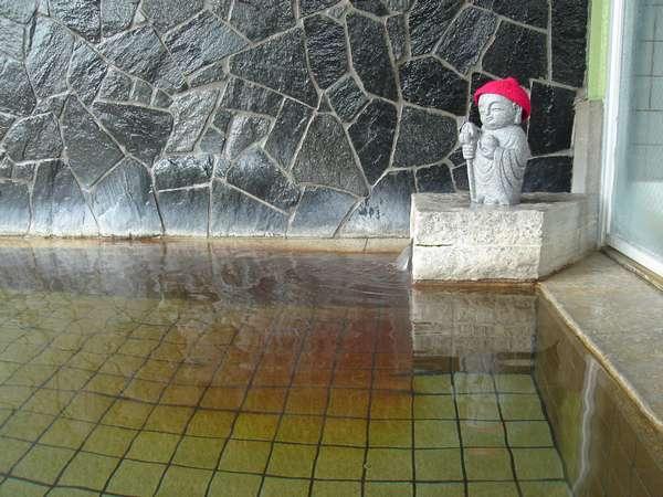 露天風呂のお地蔵様