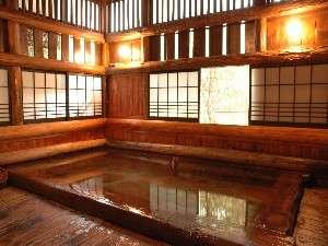 いこい旅館檜風呂
