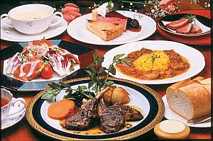 食事のマナー》フルコース料理・テーブルマナー・食事マナー・順番・左手