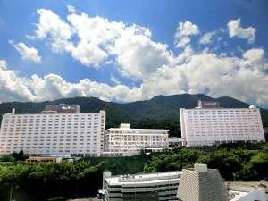 杉乃井ホテル   施設全景