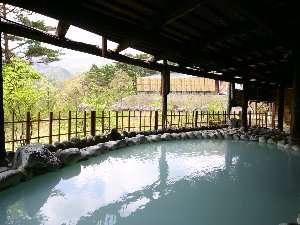 花月ハイランドホテル:露天風呂