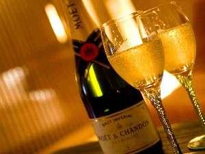 スペシャルな一夜に「MOET」シャンパン