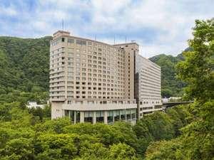 定山渓ビューホテル   施設全景