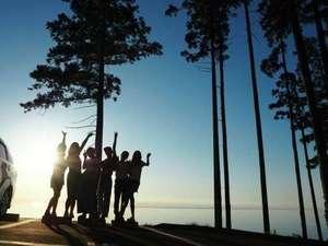 ガラガラ山キャンプ場SPA&CAMP施設全景