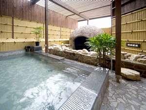 【洞窟風呂】なぜかワクワクするお風呂です♪