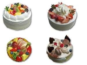 【お誕生日】恋人にナイショで予約!記念日にサプライズ !選べるケーキは4種類☆メッセージ可♪