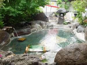 全国名湯百選の宿 七沢荘:女性露天風呂 子宝の湯