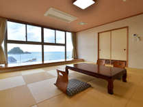 日本の夕日百選 由良海岸を臨む ホテルサンリゾート庄内