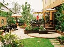 庭の、桐生エースホテル