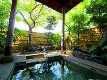 【ホテル松風】庭園露天風呂と40種類の朝食バイキング