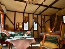 ペットと泊れる 全室露天風呂付き客室 英国調ホテル 石の家